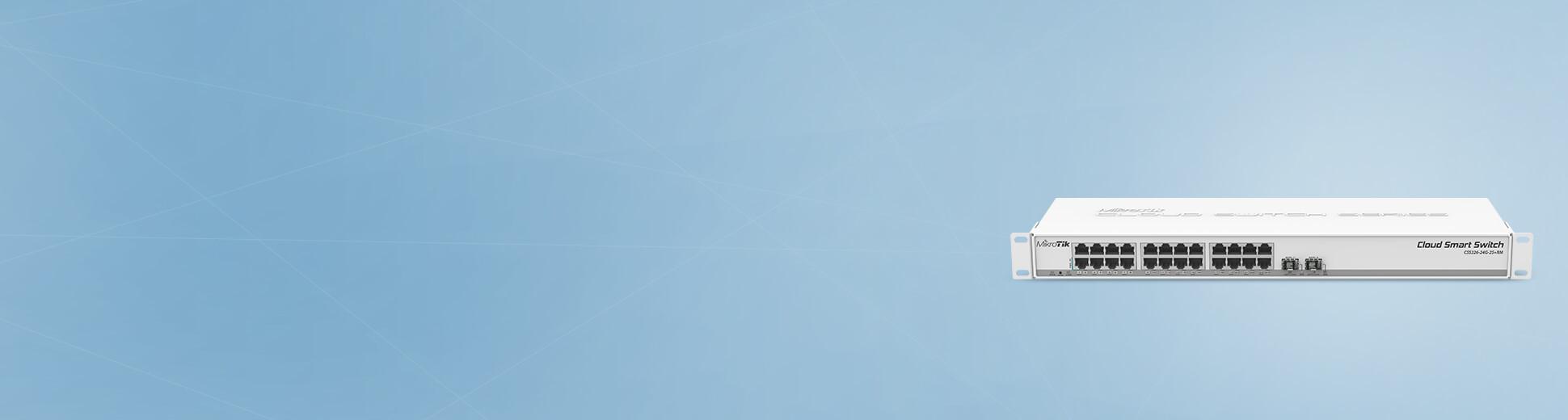 مبکروتیک CRS326-24G-2S RM | روتربرد  CRS326-24G-2S RM